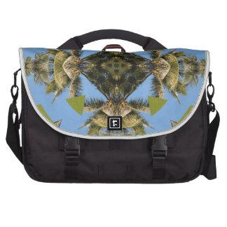 ¡Diseño inspirado palma tropical del modelo! Bolsas Para Portatil