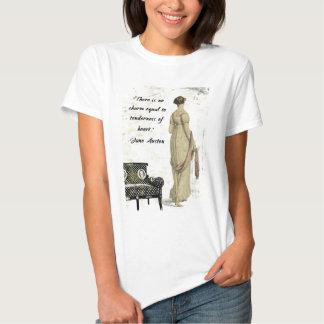 Diseño inspirado regencia de Jane Austen Playera