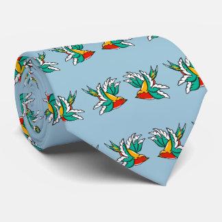 Diseño inspirado tatuaje del marinero del trago corbatas personalizadas