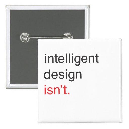 diseño inteligente pin cuadrada 5 cm