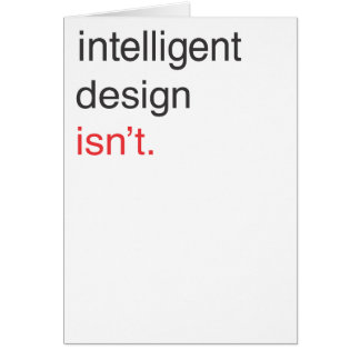 diseño inteligente tarjeta de felicitación