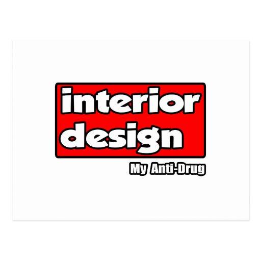 Diseño interior… mi antinarcótico postal