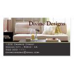Diseño interior - modificado para requisitos parti tarjeta de negocio