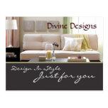 Diseño interior - modificado para requisitos parti tarjeta postal
