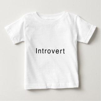 "Diseño ""introvertido"" playera para bebé"