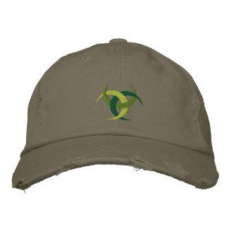 Diseño irlandés céltico de la cultura en el casqui gorra bordada