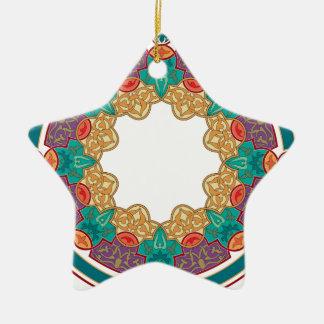 Diseño islámico del modelo del vintage ornamentos de reyes magos