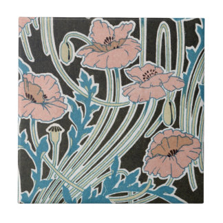 diseño islandés elegante del nouveau del arte de l azulejo cuadrado pequeño