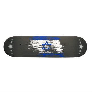 "Diseño israelí fresco de la bandera patineta 7 7/8"""