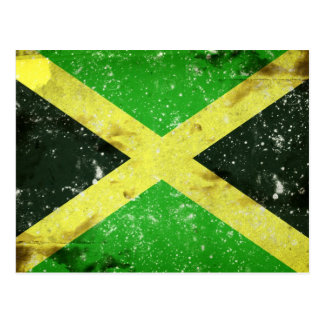 Diseño jamaicano del estilo del Grunge Postales
