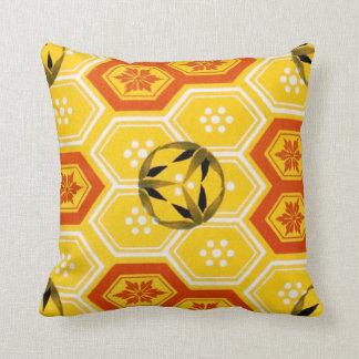 Diseño japonés chino geométrico del hexágono del c almohadas