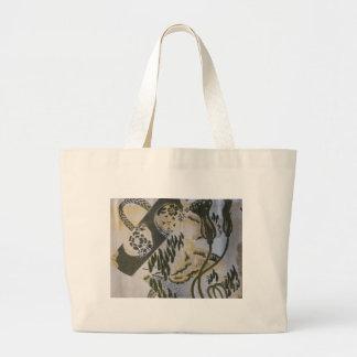 Diseño japonés del marco de la tela bolsa tela grande