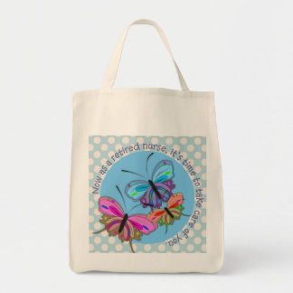 Diseño jubilado de las mariposas de la bolsa de as