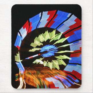 Diseño justo colorido del paseo, colores de neón e alfombrillas de raton