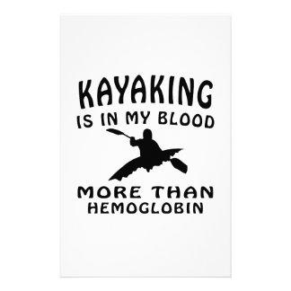 Diseño Kayaking Papeleria Personalizada