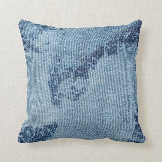 Diseño lavado #9 @ Emporio Moffa del dril de Cojín Decorativo