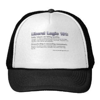 Diseño liberal #2 de la lógica 101 gorras