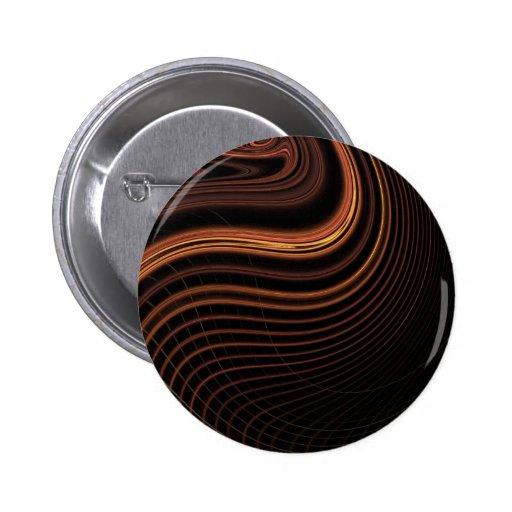 Diseño ligero marrón fresco del extracto del remol pin redondo 5 cm
