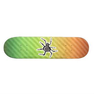 Diseño lindo de la araña tabla de patinar
