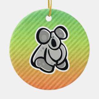 Diseño lindo de la koala adornos de navidad
