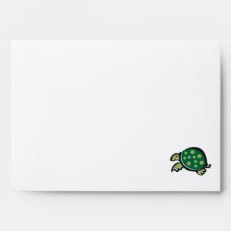 Diseño lindo de la tortuga
