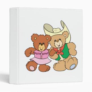 diseño lindo de los osos de peluche del baile cuad
