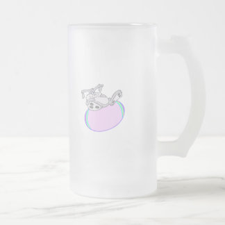 Diseño lindo de Pascua Taza Cristal Mate