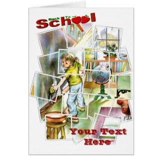 Diseño lindo del ayudante de los maestros tarjeta de felicitación
