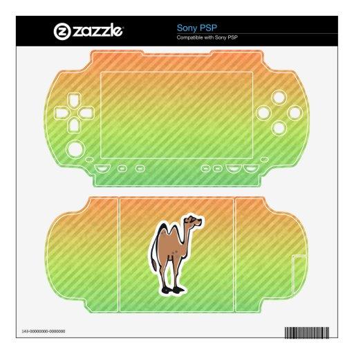Diseño lindo del camello sony PSP skins