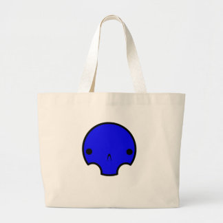 diseño lindo del cráneo bolsas lienzo