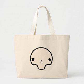 diseño lindo del cráneo bolsa de mano