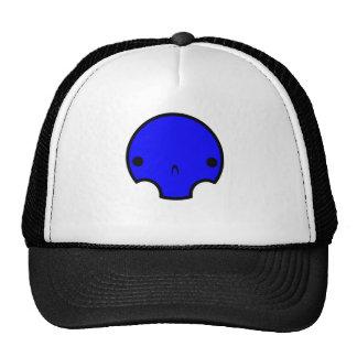 diseño lindo del cráneo gorro de camionero