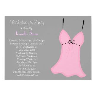 Diseño LINDO del fiesta de Bachelorette Invitación 13,9 X 19,0 Cm