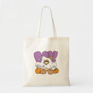 diseño lindo del oso de peluche de Halloween del f Bolsa Lienzo