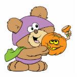 diseño lindo del oso de peluche de Halloween Escultura Fotografica