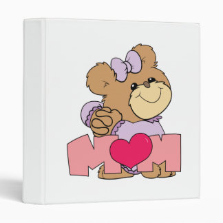 diseño lindo del oso de peluche de la mamá del día