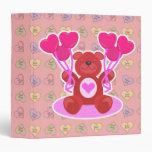 diseño lindo del oso de peluche de la tarjeta del
