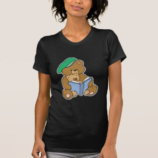 Diseño lindo del oso de peluche del tiempo de la playera