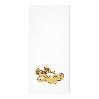 diseño lindo del oso de peluche tarjeta publicitaria personalizada