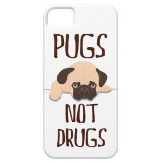 diseño lindo del perro de las drogas de los barros funda para iPhone SE/5/5s