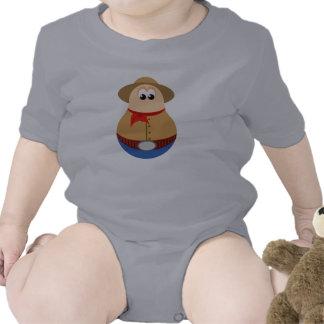 Diseño lindo del vaquero traje de bebé
