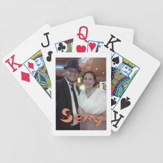 Diseño lindo elegante y artsy de los pares baraja cartas de poker