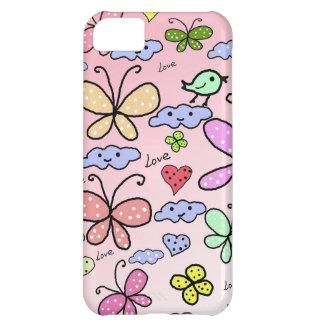 diseño lindo para los niños funda para iPhone 5C