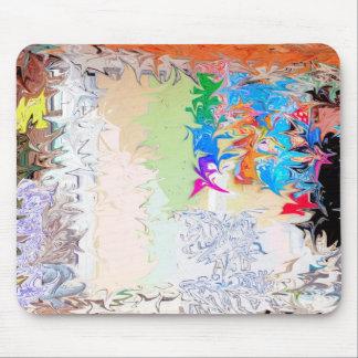 Diseño líquido abstracto tapete de ratones