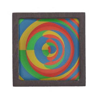 diseño llamativo colorido caja de joyas de calidad