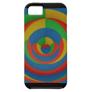 diseño llamativo colorido iPhone 5 carcasas