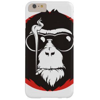 Diseño loco del mono funda para iPhone 6 plus barely there