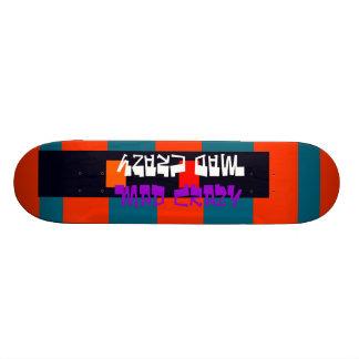 Diseño loco enojado de la cubierta 13 inusuales de tablas de skate