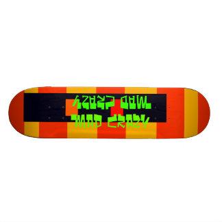 Diseño loco enojado de la cubierta 15 inusuales de tabla de skate