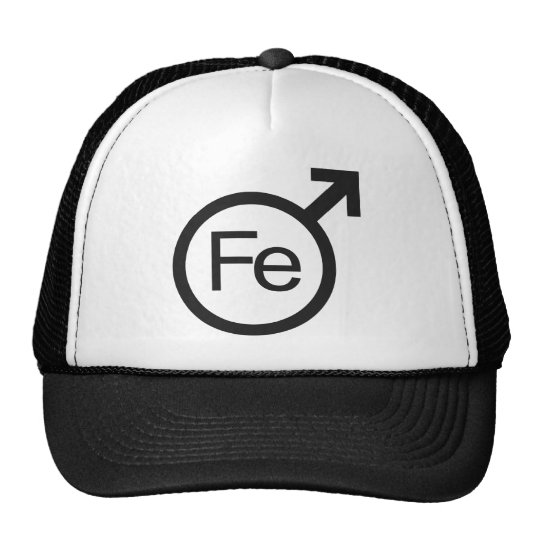 Diseño masculino del FE del símbolo del género del Gorra